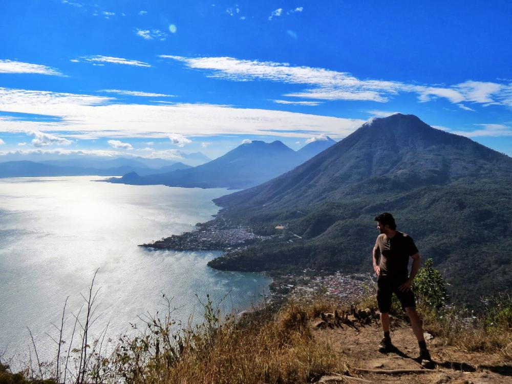 View over Lake Atitlan