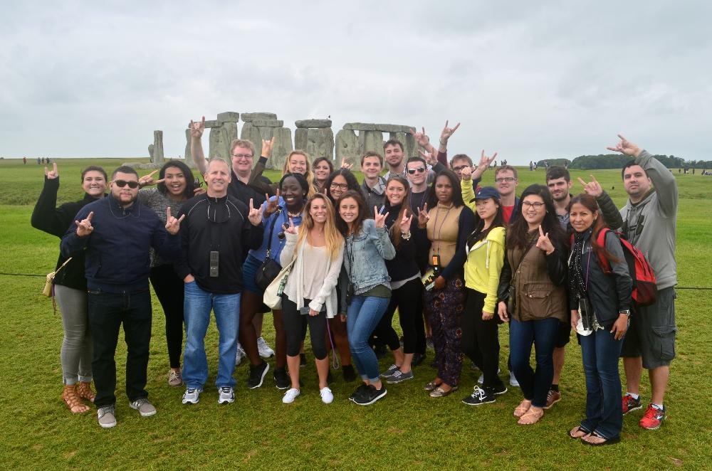 Go Bulls at Stonehenge