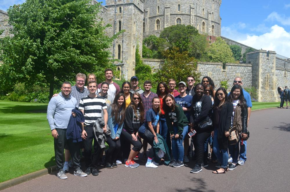 Group at Windsor Castle