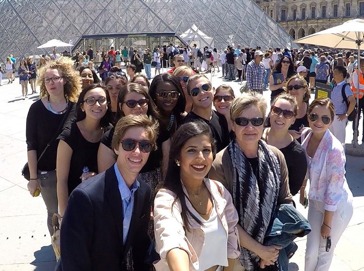 USF at Louvre